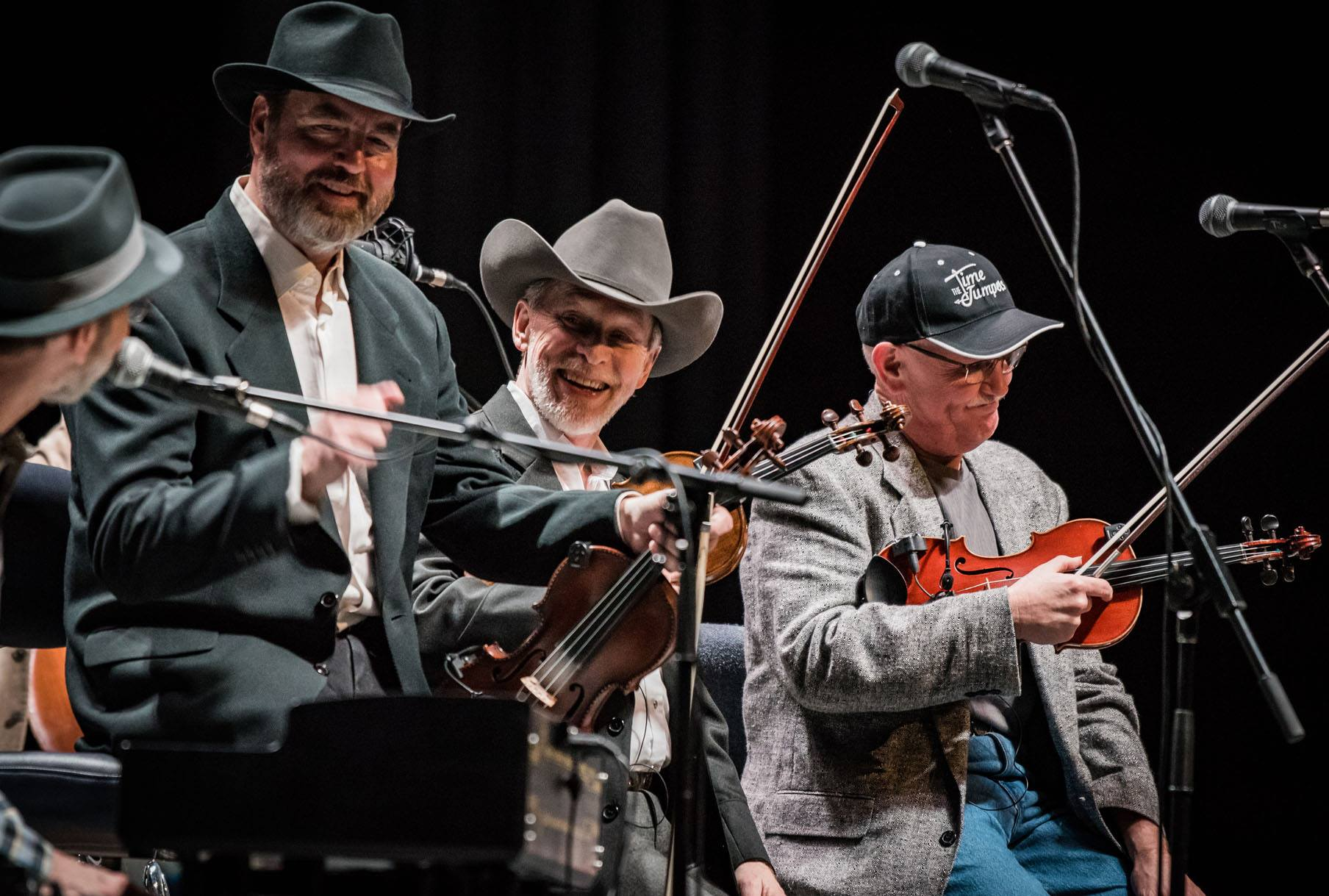 The Time Jumpers Fiddlers at the National Fiddler Hall of Fame
