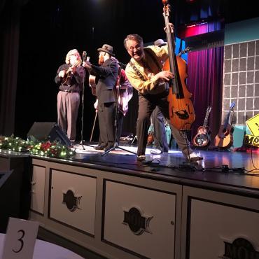 a bluegrass christmas with monroe crossing at the minden opera house minden nebraska - Bluegrass Christmas Music