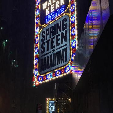 Springsteen on Broadway:  Eulogy, Elegy, and America