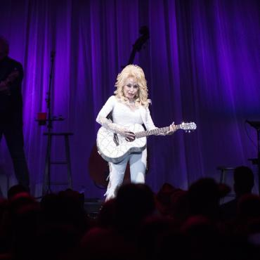 Dolly Parton at the ShoWare Center in Kent, WA