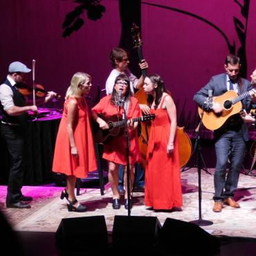 Amped up American Acoustic: Punch Brothers and I'm With Her
