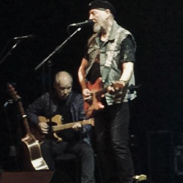 Richard Thompson Shoots out the Lights at The Barbican, London