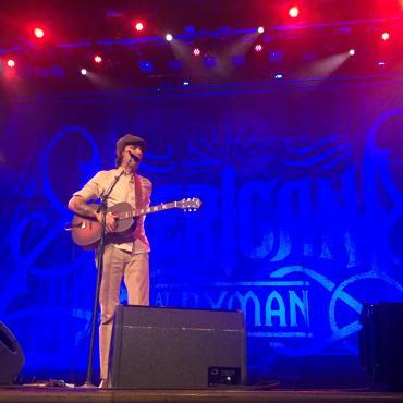 Justin Townes Earle Shines at Historic Ryman Auditorium