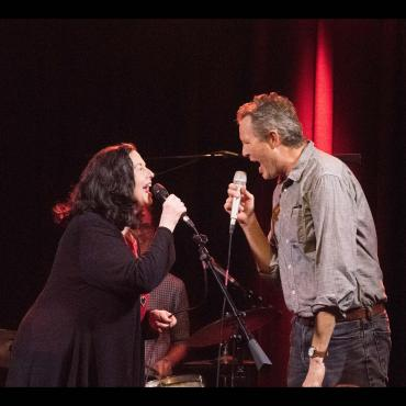 Robbie Fulks and Linda Gail Lewis Live at Natalie's