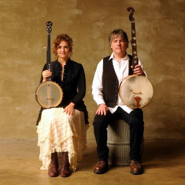Bela Fleck and Abigail Washburn at Sunset Center, Carmel