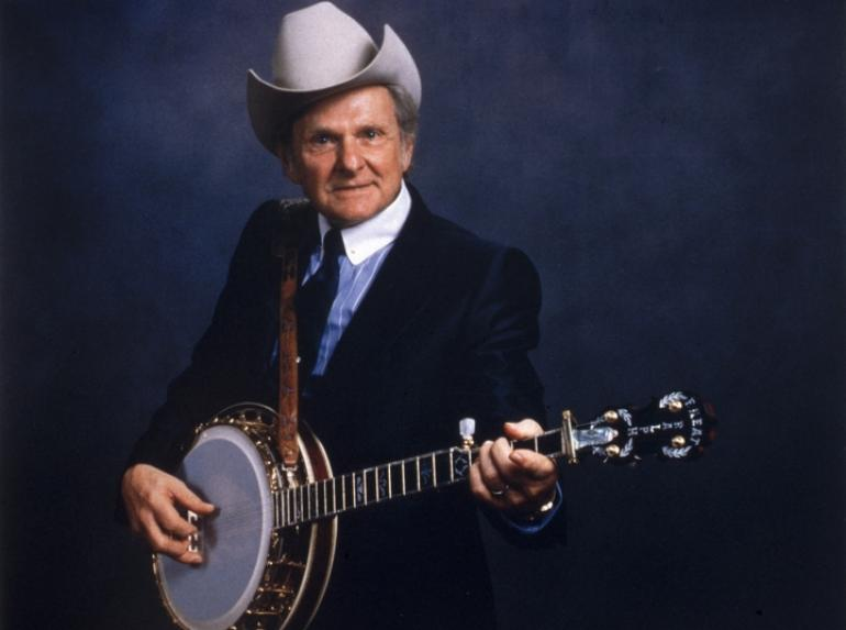 Ralph Stanley - The blue, blue grass of home