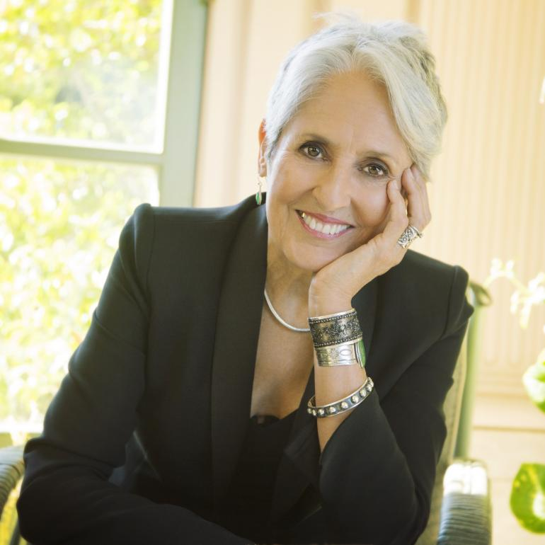 Joan Baez Readies New Album 'Whistle Down the Wind'