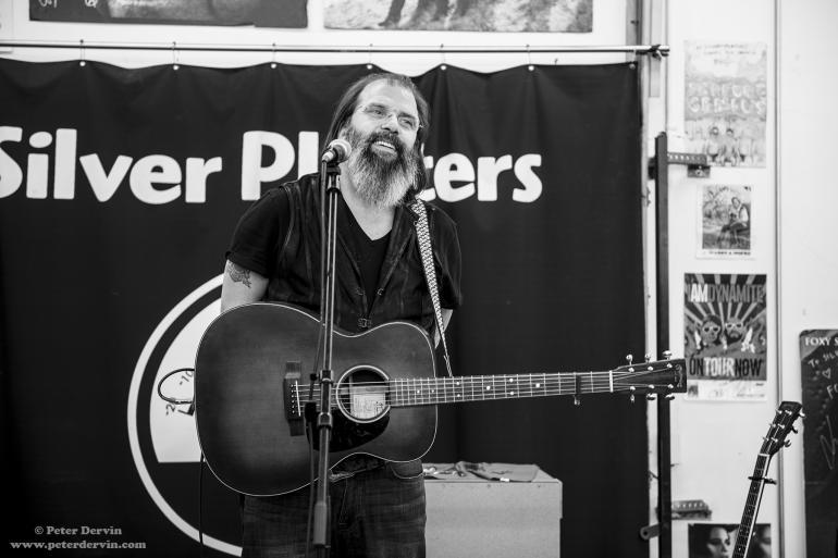 Steve Earle at Silver Platters SODO, Seattle, WA
