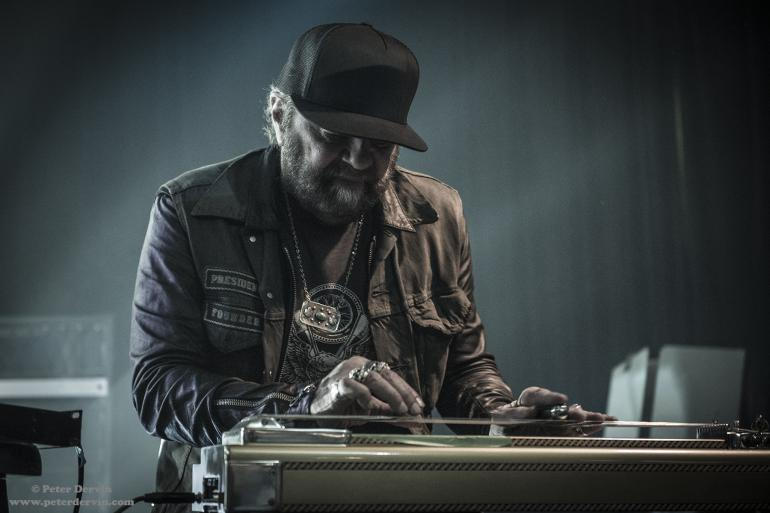 Daniel Lanois performing at the Crocodile in Seattle, WA