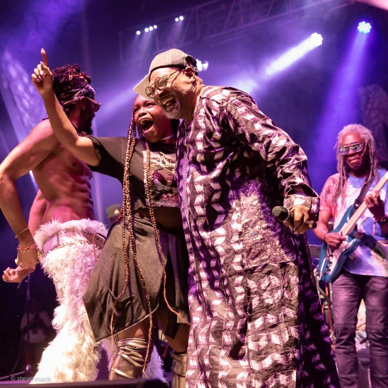 George Clinton at Nelsonville Music Festival