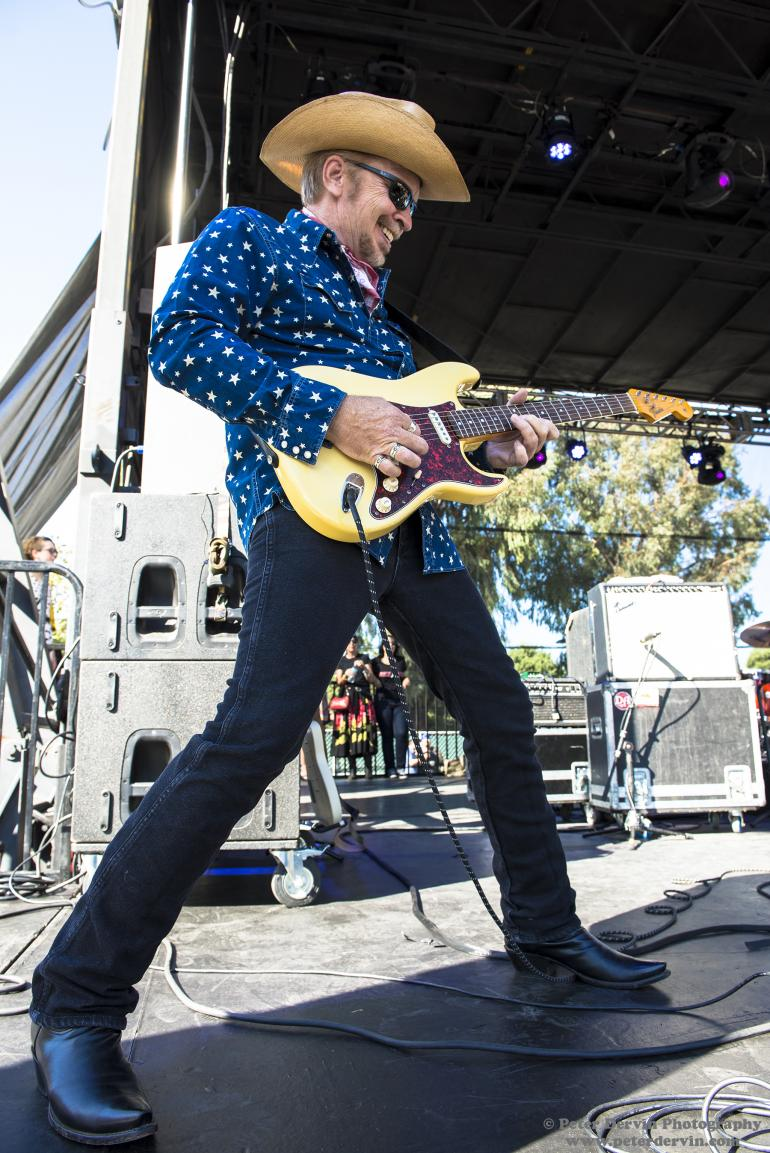 Dave Alvin with The Knitters at the BANG! Festival in Santa Ana, California