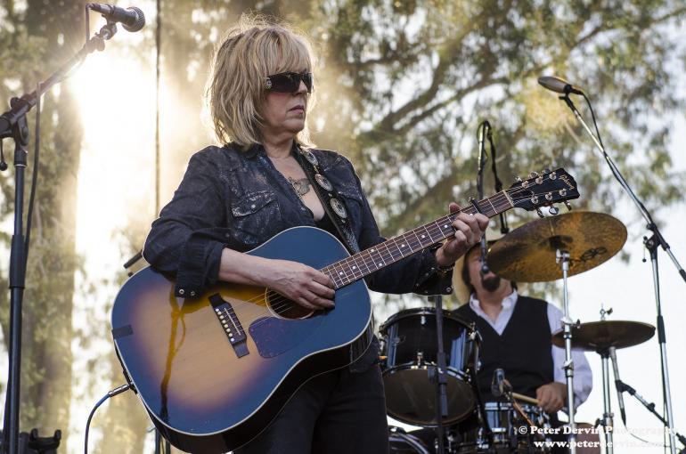 Lucinda Williams at Hardly Strictly Bluegrass in San Francisco