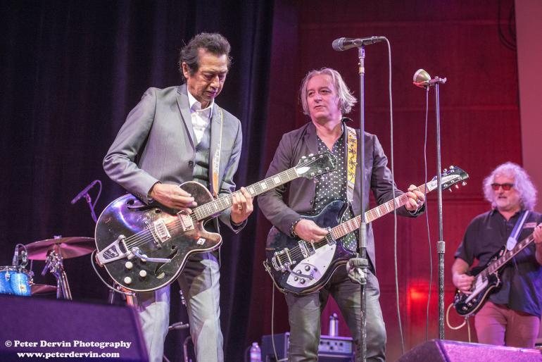Alejandro Escovedo performing at Benaroya Hall in Seattle, Washington