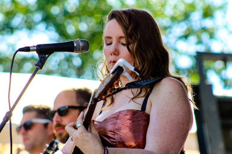 Frazey Ford at Nelsonville Music Festival