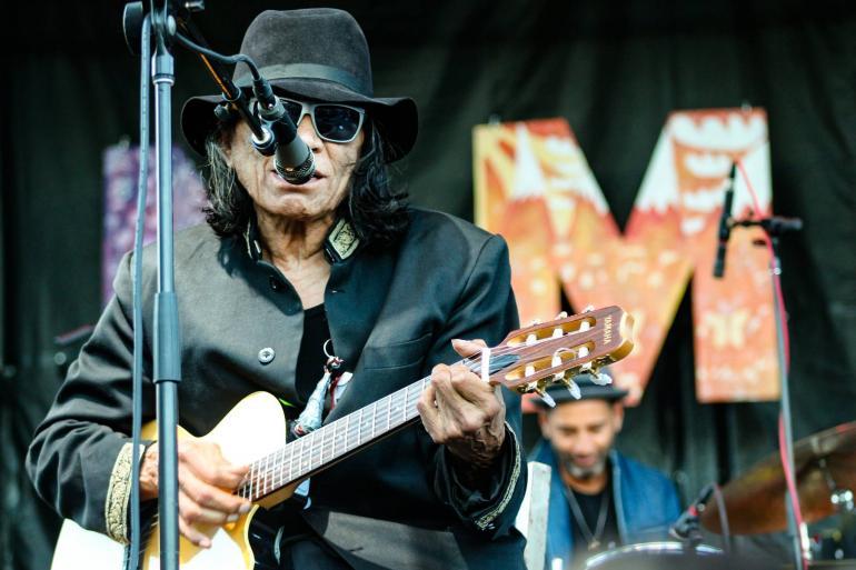 Rodriguez at Nelsonville Music Festival