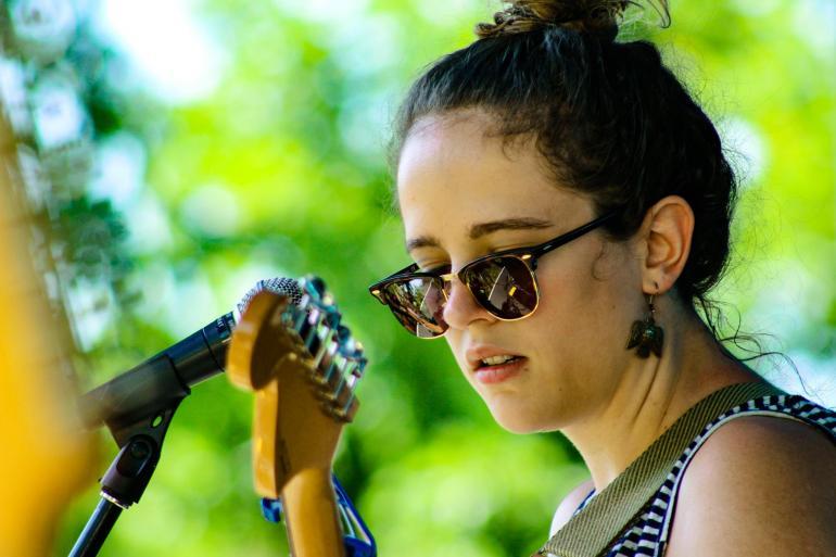 Sallie Ford at Nelsonville Music Festival