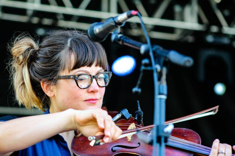Sara Watkins at Nelsonville Music Festival