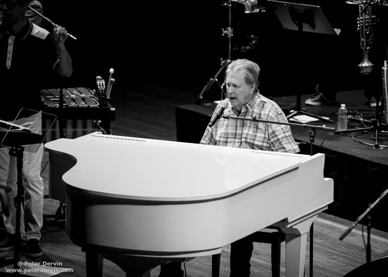 Brian Wilson performing at Benaroya Hall in Seattle