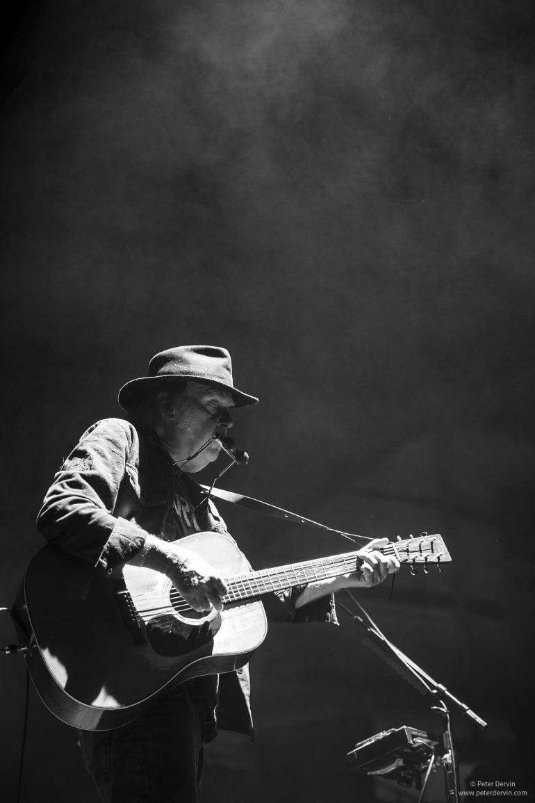 Neil Young at Chiles Center in Portland, Oregon