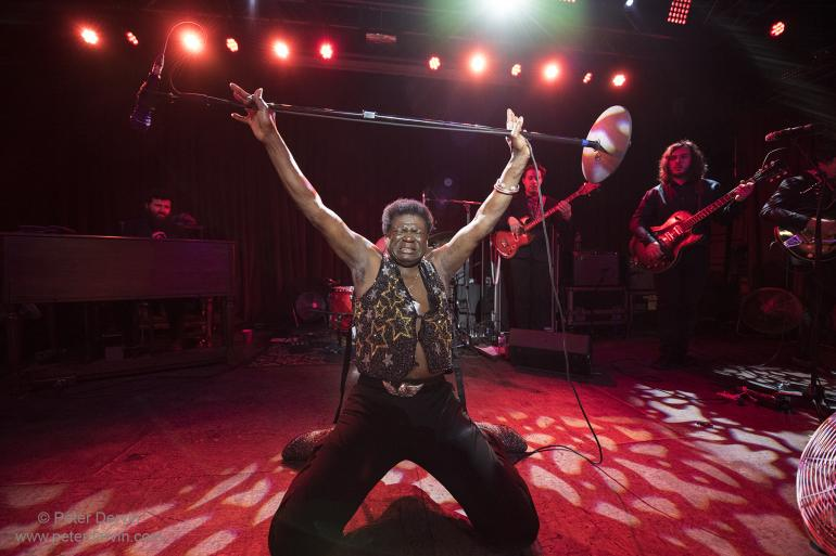 Charles Bradley at Neumos in Seattle, Washington