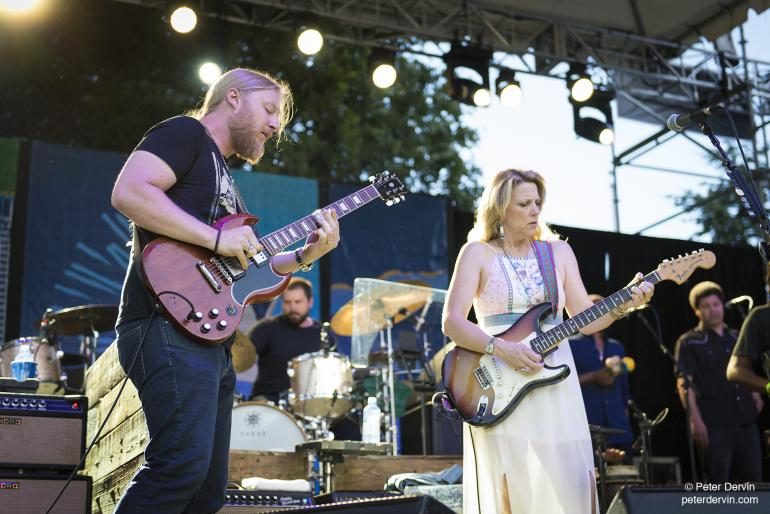 Tedeschi Trucks Band at the Waterfront Blues Festival