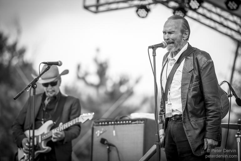 Dave Alvin & Phil Alvin with the Guilty Ones at the Winthrop Rhythm & Blues Festival