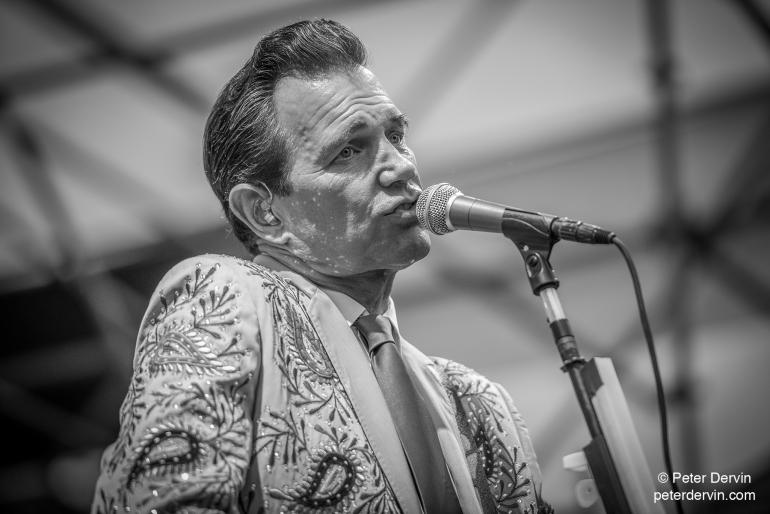 Chris Isaak at the Portland Waterfront Blues Festival