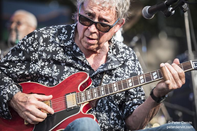 Elvin Bishop at the Portland Waterfront Blues Festival