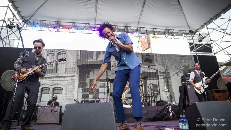 Fantastic Negrito at the Portland Waterfront Blues Festival