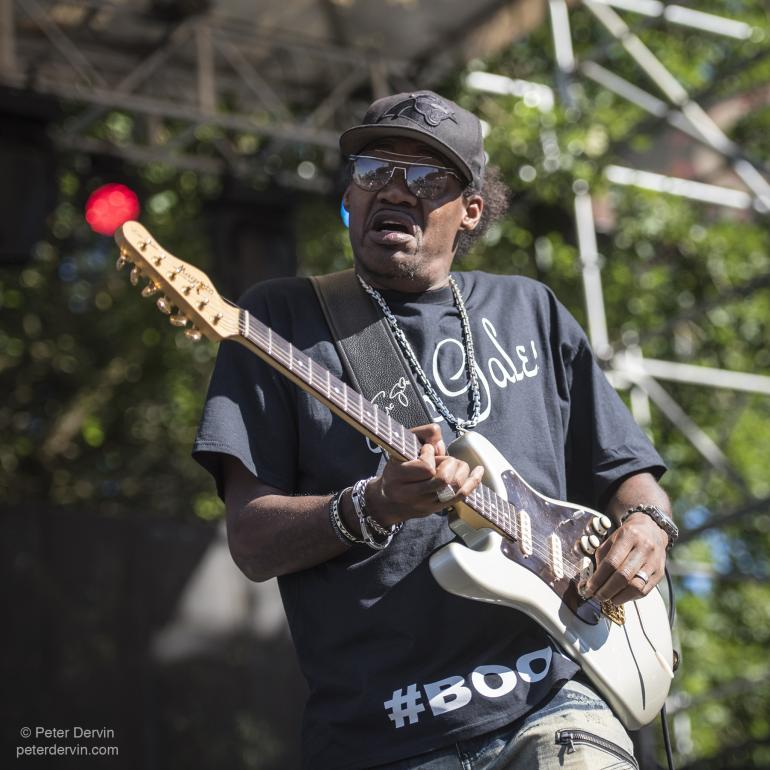 Eric Gales at the Portland Waterfront Blues Festival