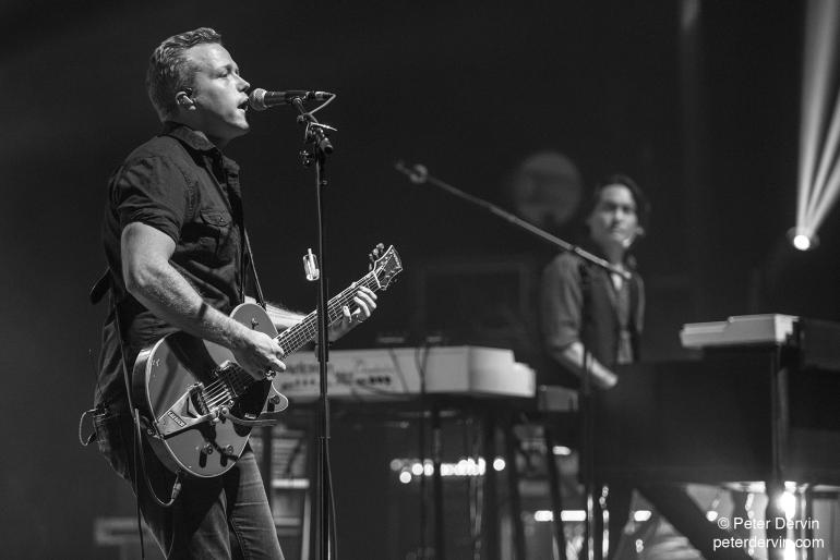 Jason Isbell & The 400 Unit performing in Seattle