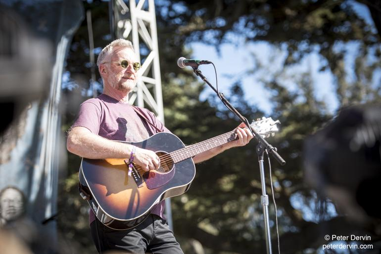 Billy Bragg performing at Hardly Strictly Bluegrass