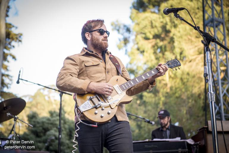 Dan Auerbach performing at Hardly Strictly Bluegrass