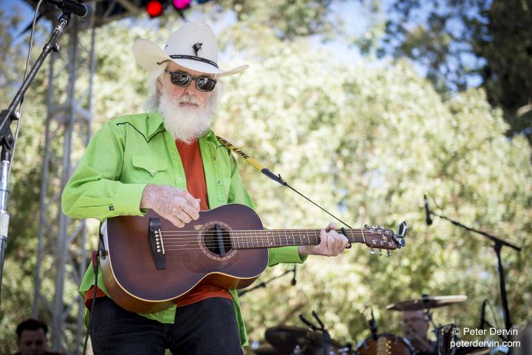 Gurf Morlix performing at Hardly Strictly Bluegrass