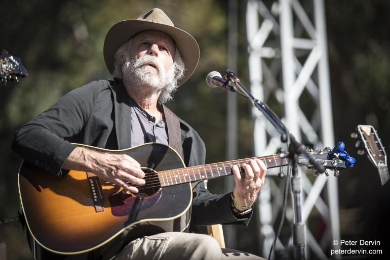 Bob Weir makes a surprise performance at Hardly Strictly Bluegrass