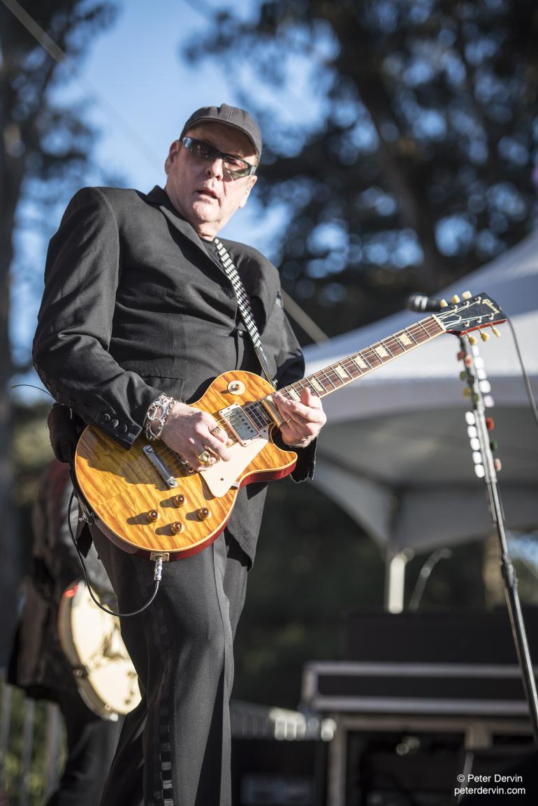 Rick Nielsen of Cheap Trick rockin' out at Hardly Strictly Bluegrass