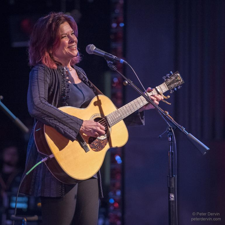 Rosanne Cash performing at the Edmonds Center for the Arts 01/25/18