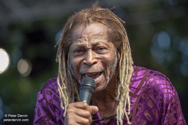 McKinley Moore at Waterfront Blues Festival 2018