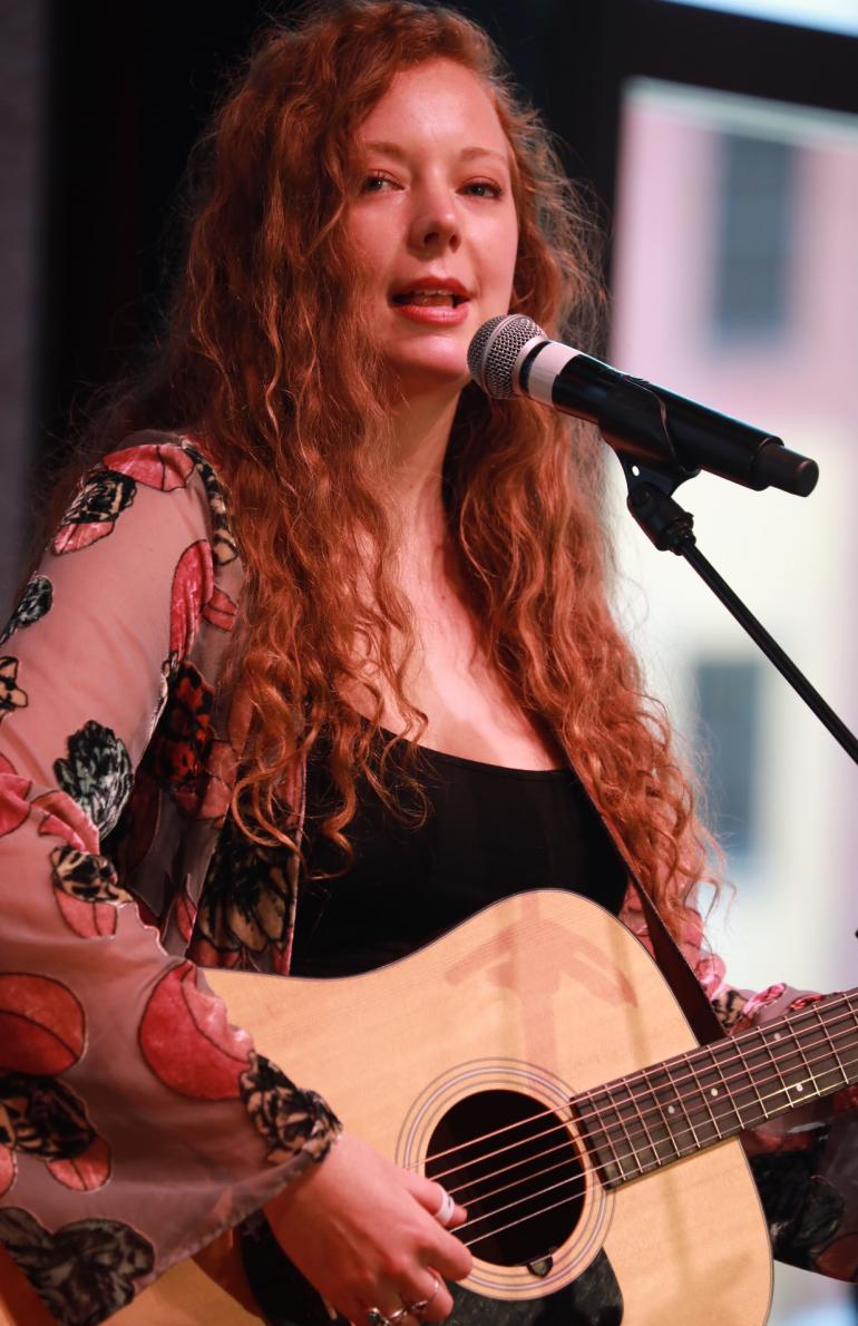 Kaitlin Butts at Okie Roundup AmericanaFest 2018