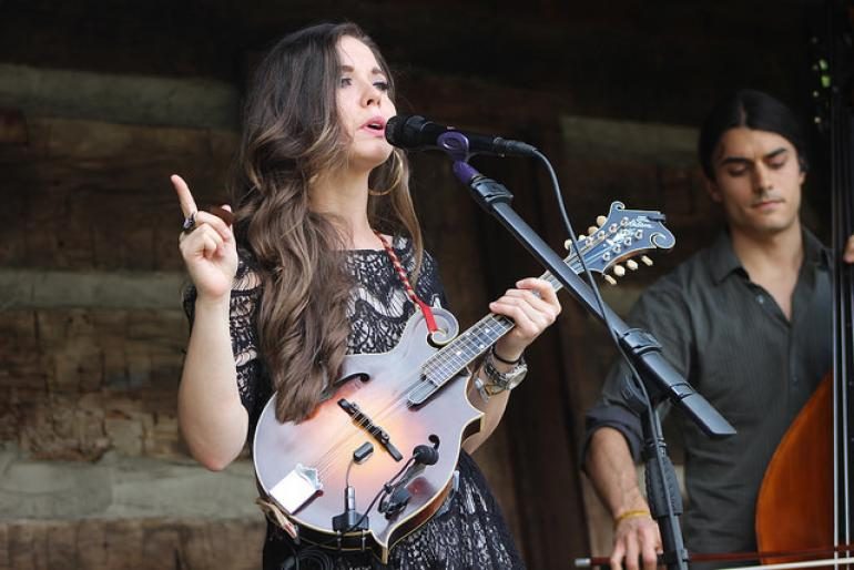 Sierra Hull at Merlefest 2016