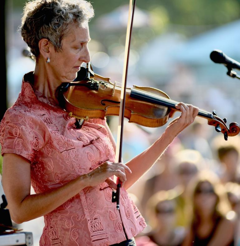 Judy Hyman, 2017 Culture Camp Instructor, Advanced Old Time Fiddle