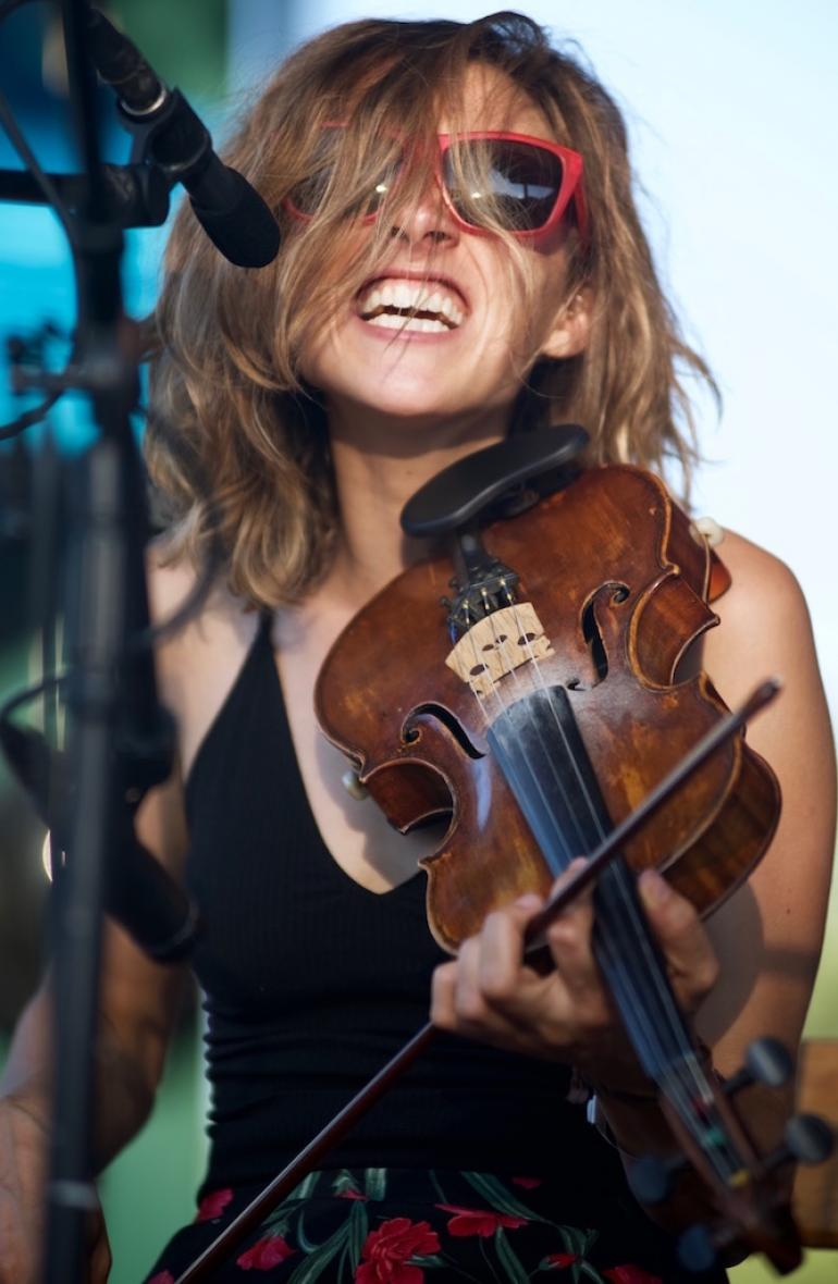 Emily Frantz of Mandolin Orange,  Finger Lakes GrassRoots Festival