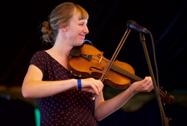 Rosie Newton, 2017 Culture Camp Instructor, Beginner/Intermediate Old Time Fiddle