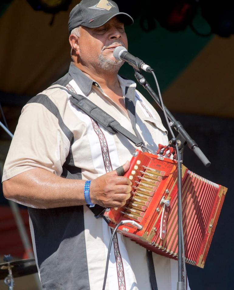Preston Franck, 2017 Culture Camp Instructor, Creole/Zydeco Accordion