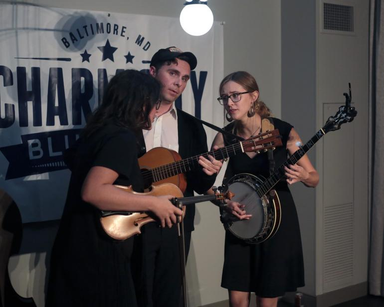 Bill and the Belles, IBMA 2018 (by Jim McKelvey)