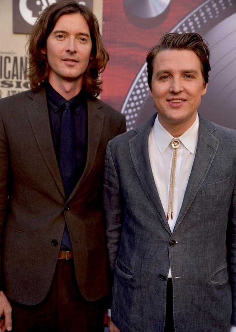 The Milk Carton Kids on the 2018 Americana Awards & Honors Red Carpet