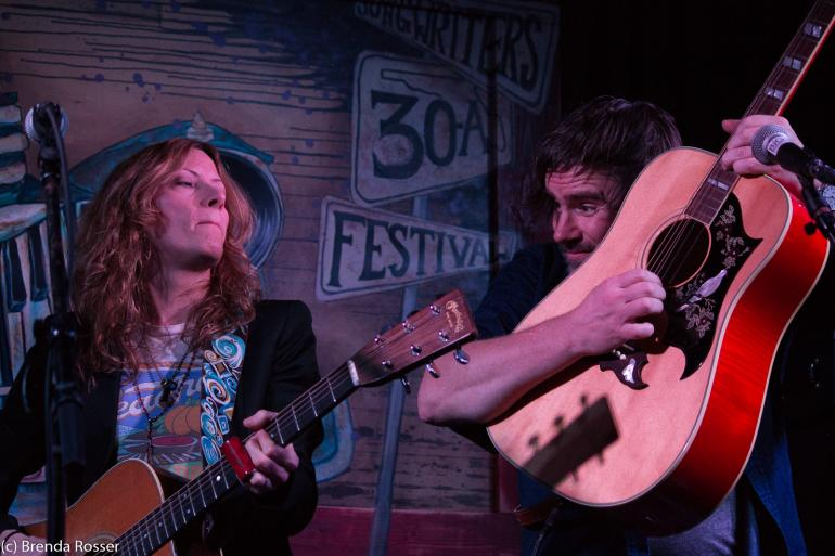 Michelle Malone, Johnny Irion, 30A Songwriters Festival