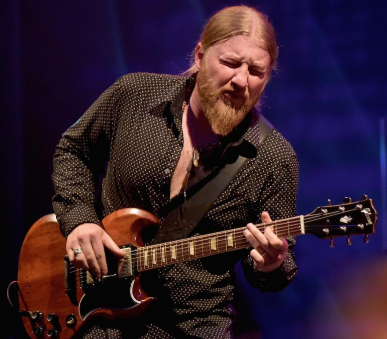 Derek Trucks, Municipal Auditorium, Charleston, West Virginia