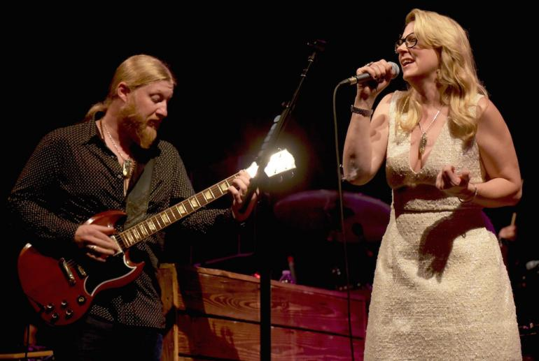 Susan Tedeschi and Derek Trucks, Municipal Auditorium, Charleston, West Virginia