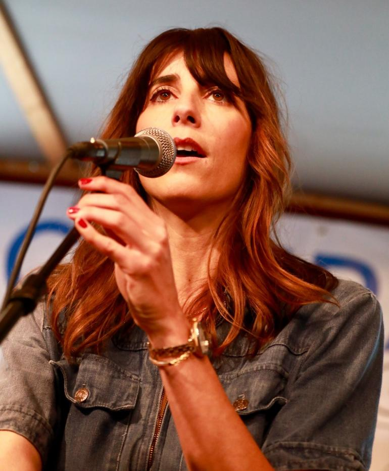 Nicki Bluhm at Compass Records  Showcase AmericanFest 2018